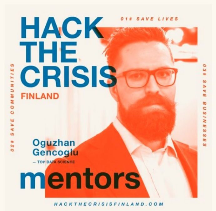 "Mentoring at ""Hack the Crisis – Finland"""