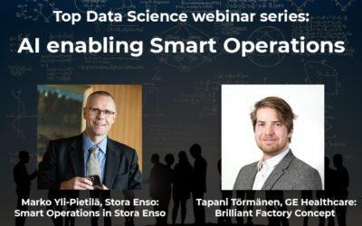 Top Data Science webinar series: AI enabling Smart Operations
