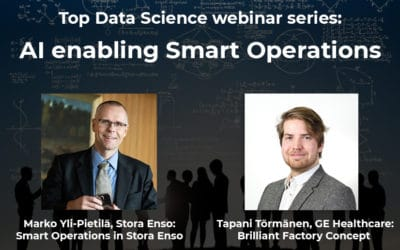 Top Data Science webinar series: AI enabling Smart Operations