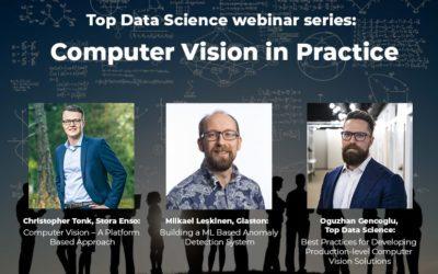 Top Data Science webinar series: Computer Vision in Practice