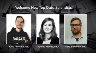 Welcoming New Top Data Scientists!